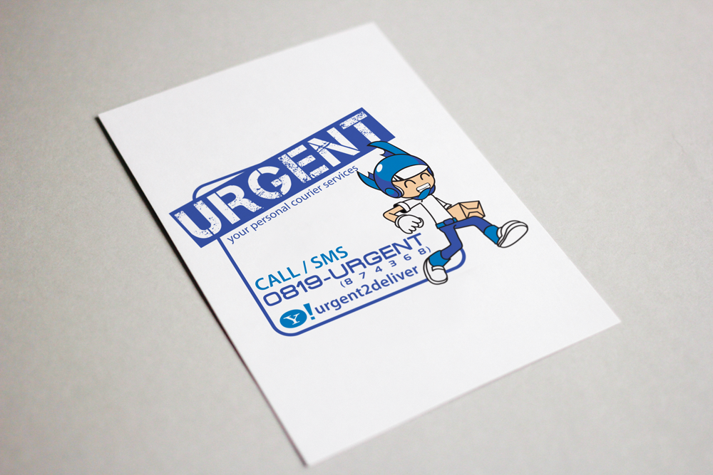 URGENT PROMOTIONAL STICKER